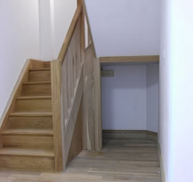 Joinery work - new stairs